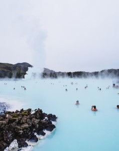 Iceland's Blue Lagoon hot spring will melt away the work stress over a long weekend.