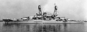 USS Oklahoma Courtesy of USN