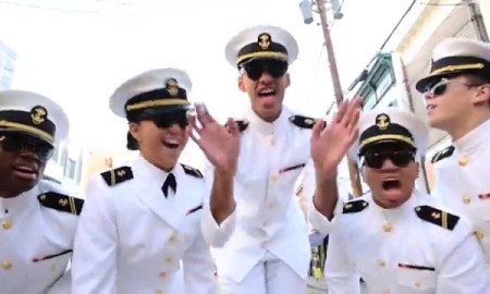 Naval Academy Midshipman Prove They're Funkier Than Week Ole' Gym Socks at West Point